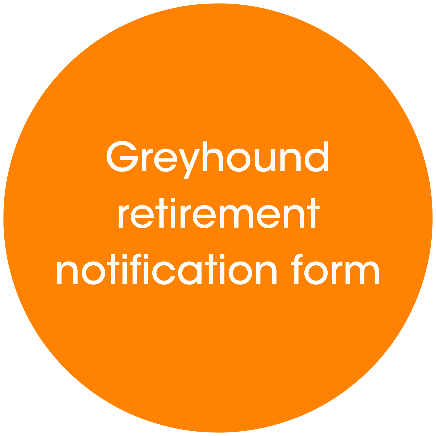Retirement notification form link